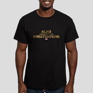 Jessica Jones Private Men's Fitted T-Shirt (dark)