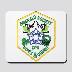 Chicago PD Pipes & Drums Mousepad