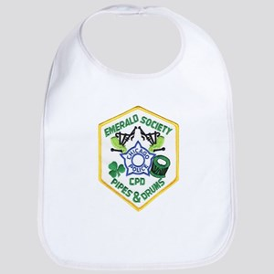 Chicago PD Pipes & Drums Bib