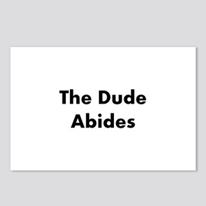 The Dude Abides Postcards (Package of 8)