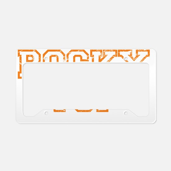 Cute College football License Plate Holder