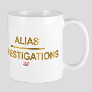 Jessica Jones Alias Investigations Logo Light Mugs