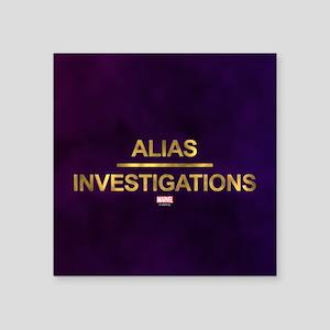 Jessica Jones Alias Investigations Logo Fu Sticker