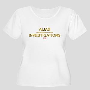 Jessica Jones Alias Investigatio Plus Size T-Shirt
