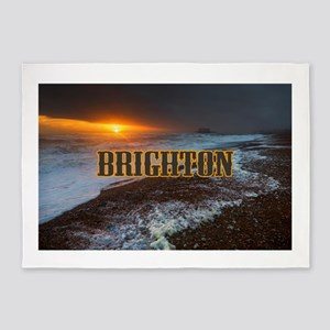 BRIGHTON GIFTS 5'x7'Area Rug