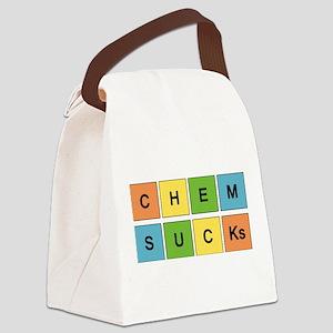 Chemistry Sucks Periodic Element Canvas Lunch Bag