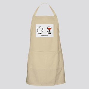 COFFEE AM WINE PM Apron