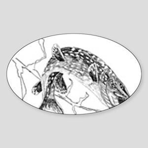 northern-pike Sticker