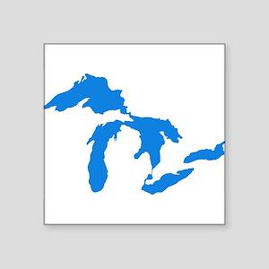 Great Lakes Usa Amerikan Big Water Resourc Sticker