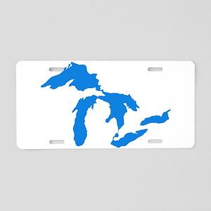 Great Lakes Usa Amerikan Bi Aluminum License Plate