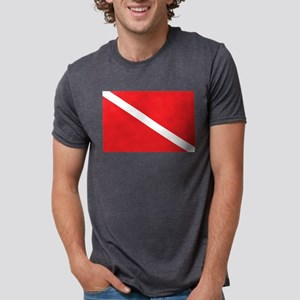 SCUBA DIVE FLAG Ash Grey T-Shirt