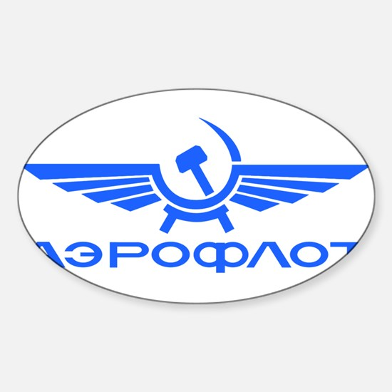 Aeroflot Russian Airlines Flights Decal
