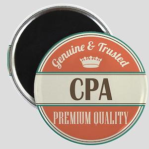 cpa vintage logo Magnet