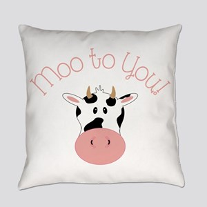 Moo To You! Everyday Pillow
