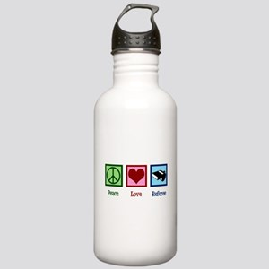 Peace Love Referee Stainless Water Bottle 1.0L