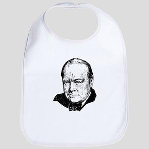 Sir Winston Leonard Spencer-Churchill British Bib