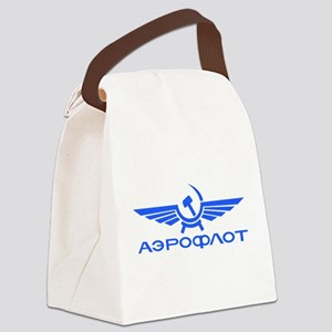Aeroflot Russian Airlines Flights Canvas Lunch Bag