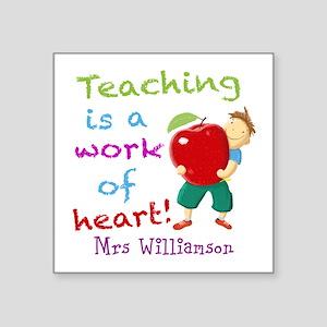 Inspirational Teacher Quote Sticker