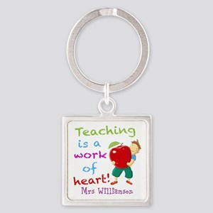 Inspirational Teacher Quote Keychains