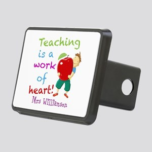 Inspirational Teacher Quote Hitch Cover