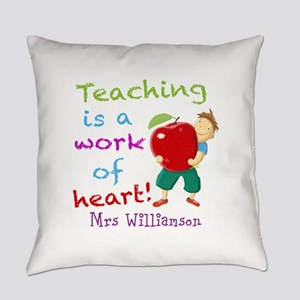 Inspirational Teacher Quote Everyday Pillow