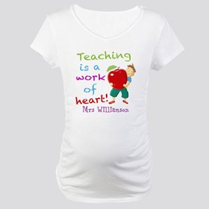 Inspirational Teacher Quote Maternity T-Shirt