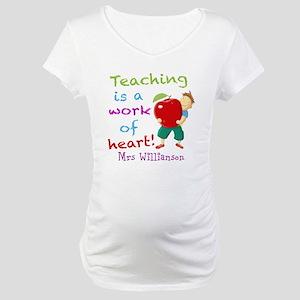 Inspirational Teacher Quote Maternity T-Shirt