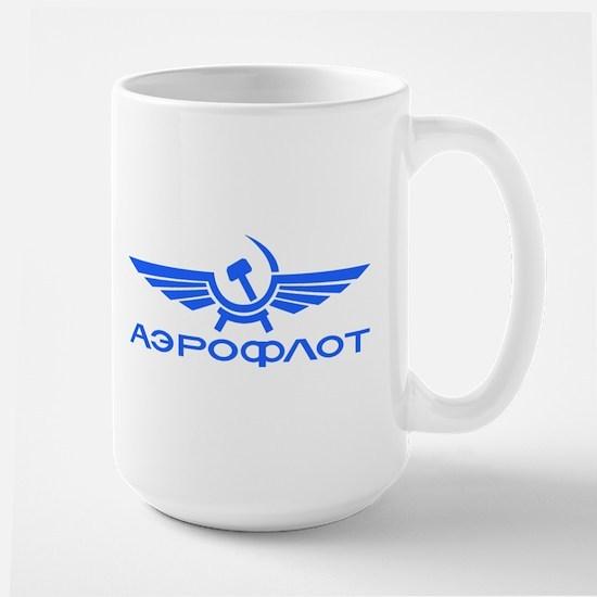 Aeroflot Russian Airlines Flights Mugs