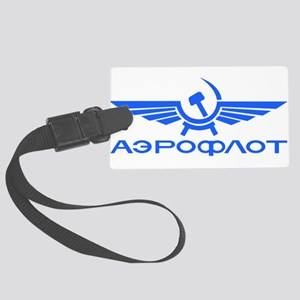 Aeroflot Russian Airlines Flight Large Luggage Tag