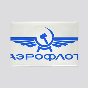 Aeroflot Russian Airlines Flights Magnets