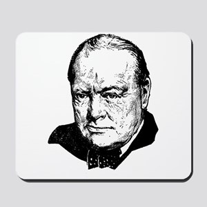 Sir Winston Leonard Spencer-Churchill Br Mousepad