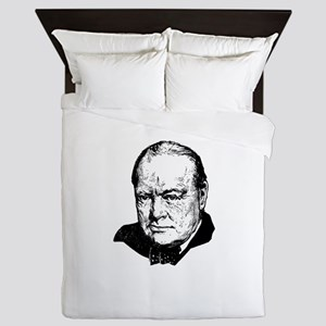Sir Winston Leonard Spencer-Churchill Queen Duvet
