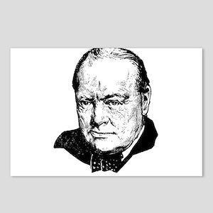 Sir Winston Leonard Spenc Postcards (Package of 8)