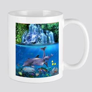 The Dolphin Family Mugs