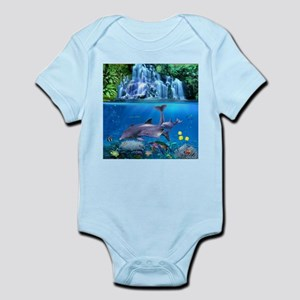 The Dolphin Family Body Suit