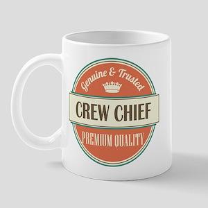 crew chief vintage logo Mug