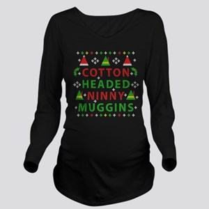 Elf Cotton Headed Ni Long Sleeve Maternity T-Shirt
