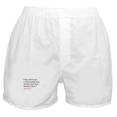 Opera Pavarotti Boxer Shorts