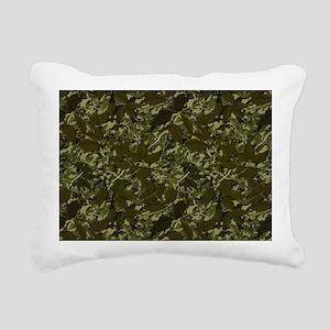 What Lies Beneath Rectangular Canvas Pillow