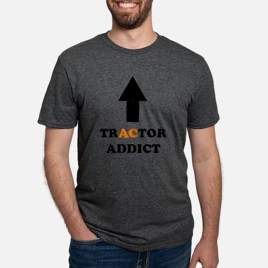 Tractor Addict AC White T-Shirt