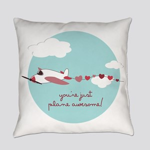 Plane Awesome Everyday Pillow