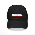 McCain '08 Black Cap