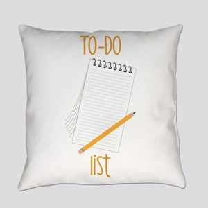 To-Do Everyday Pillow