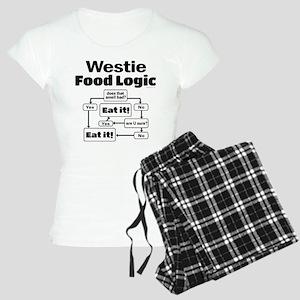 Westie Food Women's Light Pajamas