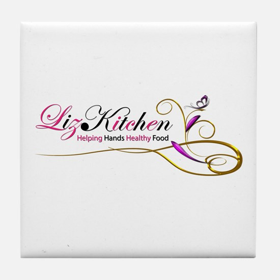 Liz.Kitchen Tile Coaster