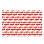 Krill Pattern Postcards (Package of 8)