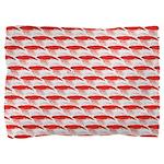 Krill Pattern Pillow Sham