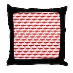 Krill Pattern Throw Pillow