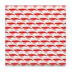 Krill Pattern Tile Coaster