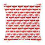Krill Pattern Woven Throw Pillow